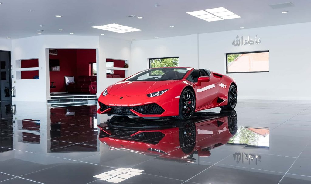 A WIDE RANGE OF SPORTS CARS
